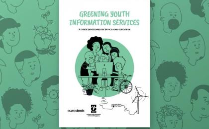 Pubblicazione Greening Youth Information Services!